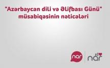 """""""Nar"""" müsabiqə nəticələrini açıqladı"""