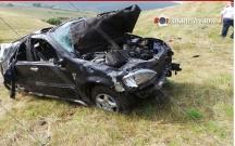Ermənistanda mayor yol qəzasında ölüb