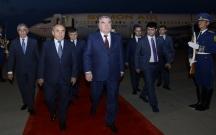 Tacikistan prezidenti Azərbaycanda səfərdədir