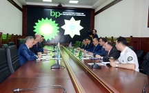 Səfər Mehdiyev BP-nin prezidentiylə görüşdü
