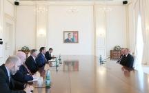 Prezident ABŞ Konqresinin nümayəndə heyətini qəbul edib