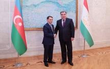 Novruz Məmmədov Tacikistan prezidenti ilə görüşdü