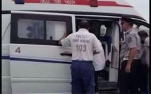Yol polisi sürücünün həyatını xilas etdi