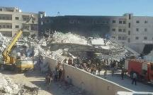 İdlibdə güclü partlayış