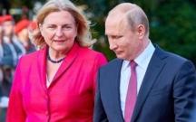 Putindən Avstriya nazirinə maraqlı toy hədiyyəsi