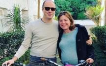 Qadın nazir doğuşa velosipedlə getdi