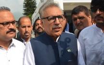Pakistanın yeni prezidenti seçildi