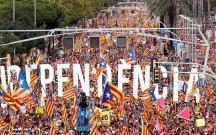 Kataloniyalılar yenə küçələrə axışdı