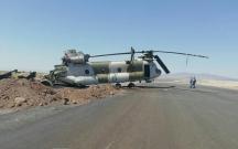 İranda helikopter qəzaya düşdü