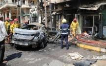 İraqda restorana bombalı hücum