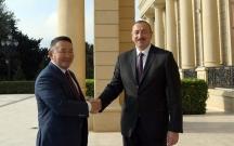 Azərbaycan və Monqolustan prezidentləri görüşdü