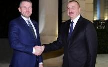 Slovakiya baş naziri İlham Əliyevin qəbulunda