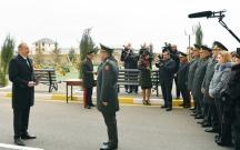 Prezident 400-ə yaxın hərbçini sevindirdi