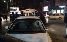 """Bakıda """"Hyundai"""" piyada keçidindəki 4 nəfəri vurdu"""