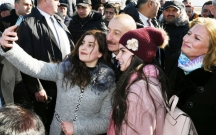 Prezident Sumqayıt bulvarında