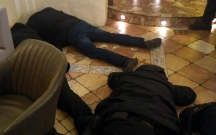 Kiyevdə restorana polis basqını