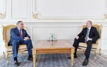 General İlham Əliyevin qəbulunda