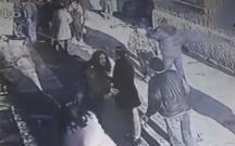 42 nəfərin yaralandığı qəzanın baş verdiyi an