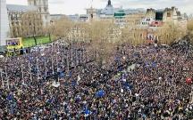 """""""Brexit""""ə görə Londonda 1 milyon insan küçələrə çıxdı"""