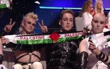 """""""Eurovision""""da Fələstin bayrağı açdıqlarına görə cəzalana bilərlər"""
