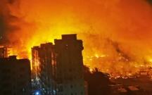 Banqladeşdə 15 min ev yanıb kül oldu