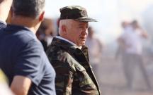 General-leytenant Etibar Mirzəyev yanğın baş verən ərazidə