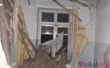 Bakıda binada uçqun