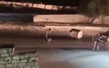 Yolu kəsib qızı vuranlar saxlanıldı