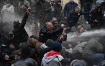 Tbilisidə polis aksiyanı dağıtmağa başladı
