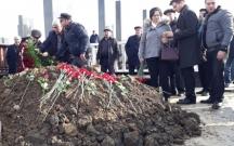 Yevda Abramov torpağa tapşırıldı