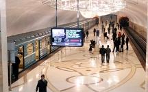 Metroda epilepsiya xəstəsi relslərin üzərinə yıxıldı