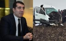 İsa Məlikov Ukraynada qəzaya düşdü