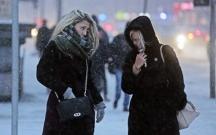 Moskvada bu qışın ən soyuq gecəsi...