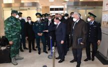 Məmurlar İranla sərhədə getdi