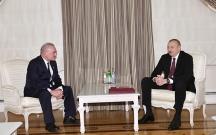 Prezidentin Artur Rasi-zadə ilə görüşü