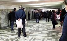 Metroda sıxlıq yarandı