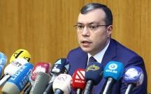 Sahil Babayev mətbuat konfransı keçirir