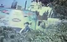 Bakıda maska taxan şəxs maşını bir neçə dəqiqəyə soydu