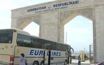 Azərbaycan- Rusiya sərhədində sıxlıq yaranıb