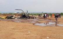 İndoneziyada hərbi helikopter qəzaya uğradı: 4 ölü, 5 yaralı