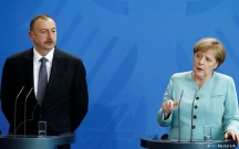 Merkel İlham Əliyevə zəng vurdu