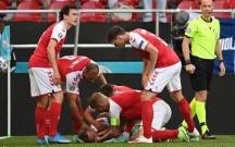 Avro-2020 matçında şok anlar, oyun dayandırıldı