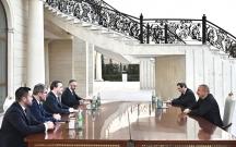 İlham Əliyev Serbiyanın xarici işlər nazirini qəbul etdi