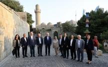 Türkiyəli rəsmilər Bakıda