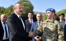 Prezidentin 19 yaşlı Vətən Müharibəsi Qəhrəmanı ilə söhbəti