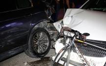 Masallıda maşın velosipedçini vurdu
