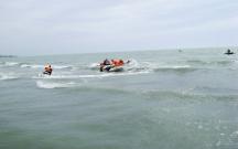 Bakıda dənizdə 1 nəfər xilas edildi