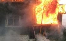 Ağstafada 5 ev yanıb