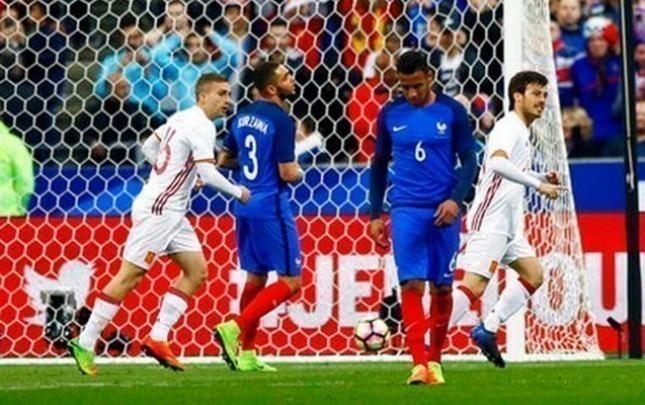 İspaniya Fransaya qalib gəldi