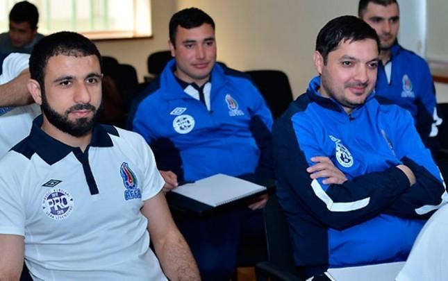 Rəşad Sadıqov UEFA-nın kurslarında